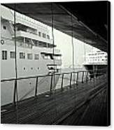 Cruise Ships Canvas Print