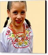 Cuenca Kids 203 Canvas Print by Al Bourassa