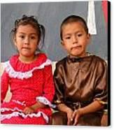 Cuenca Kids 76 Canvas Print by Al Bourassa