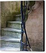 Curly Stairway Canvas Print