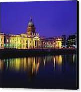 Custom House, Dublin, Co Dublin Canvas Print by The Irish Image Collection