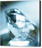 Cut Diamond Canvas Print