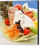 Cute Salad Canvas Print by Atiketta Sangasaeng