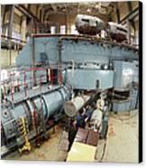 Cyclotron Particle Accelerator Canvas Print by Ria Novosti