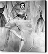 Daddy Long Legs, Leslie Caron, 1955 Canvas Print by Everett