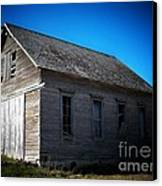 Daddys Old School House Canvas Print