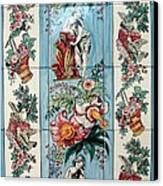 Dama Da Fonte Canvas Print by Paula Teresa