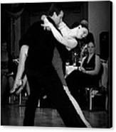 Dance Room Drama Canvas Print