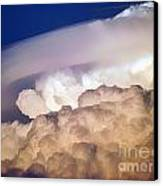 Dark Clouds - 2 Canvas Print by Graham Taylor