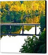De Gray Bridge Canvas Print by Jan Canavan
