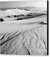 Death Valley Dunes 11 Canvas Print by Bob Christopher