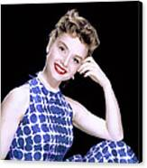 Debbie Reynolds, C. 1950s Canvas Print by Everett