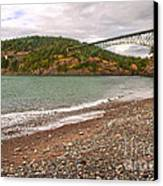 Deception Pass Washington Canvas Print
