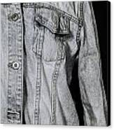 Denim Jacket Canvas Print by Joana Kruse