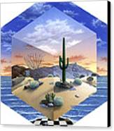 Desert On My Mind 2 Canvas Print