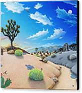 Desert Timeline Canvas Print