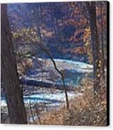 Devils Den State Park Creek Canvas Print by Patty Vicknair
