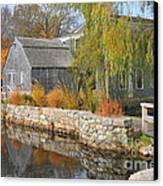 Dexter's Grist Mill Canvas Print by Catherine Reusch Daley