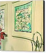 Dg Ate And Pn Glenn 85-91 Canvas Print