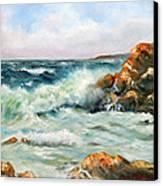 Diane's Cove Canvas Print by Max Mckenzie