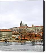 Die Moldau - Prague Canvas Print by Christine Till