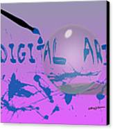 Digital Art Canvas Print