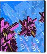 Digital Communication, Conceptual Image Canvas Print by Victor Habbick Visions