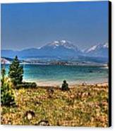 Dillon Lake Canvas Print by Sergio Aguayo