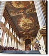 Dining Hall At Royal Naval College Canvas Print