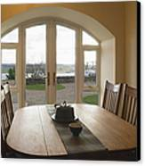 Dining Room Table Canvas Print