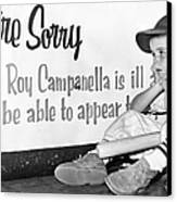 Disappointed Boy, 1957 Canvas Print by Granger