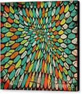 Disperse Canvas Print by Ankeeta Bansal