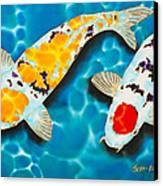Ditsu Koi Canvas Print
