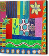 Diversity Has Proven God Is Love V2 Canvas Print by Jeremy Aiyadurai