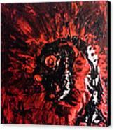 Dizard Canvas Print by Aaron Smith