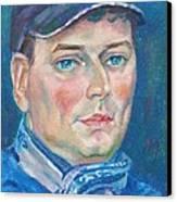 Dmitry Polyakov Canvas Print by Leonid Petrushin