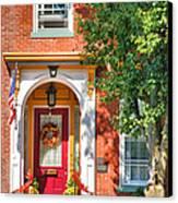 Door In Historic District I Canvas Print