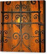 Doorway To Death Canvas Print by Paul Ward