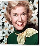 Doris Day, Circa 1950s Canvas Print by Everett