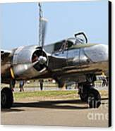 Douglas A26b Military Aircraft 7d15748 Canvas Print by Wingsdomain Art and Photography