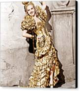 Down Argentine Way, Betty Grable, 1940 Canvas Print