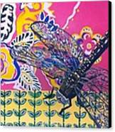 Dragonfly Canvas Print by Amy Reisland-Speer
