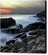Dramatic Coastline Canvas Print by Carlos Caetano