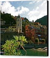 Dream Of Vernazza Canvas Print