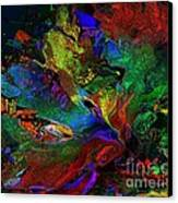 Dreamscape Abstract Number Five Canvas Print by Doris Wood
