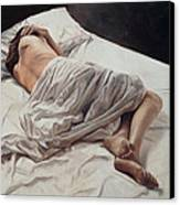 Drifting  Canvas Print by John Worthington