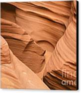 Drowning In The Sand - Antelope Canyon Az Canvas Print
