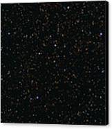 Eagle And Omega Nebulae Canvas Print by John Sanford