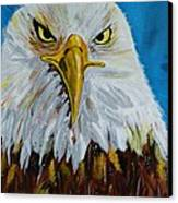 Eagle Canvas Print by Ismeta Gruenwald
