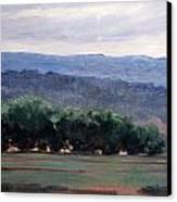 Eagle Ranch Canvas Print by Victoria  Broyles
